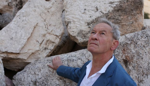 """Simon Schama in his documentary """"The Story of the Jews"""""""
