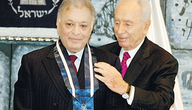Mehta, left, and Peres on Monday.