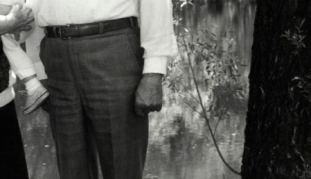 In this May 22, 1990 photo, Michael Karkoc, photographed in Lauderdale, Minnesota.