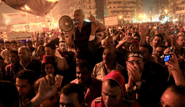 Egyptians protest against the Muslim Brotherhood