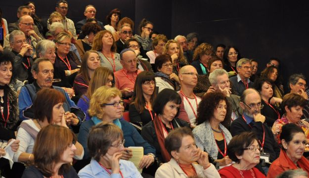 Audience at Limmud Oz conference.
