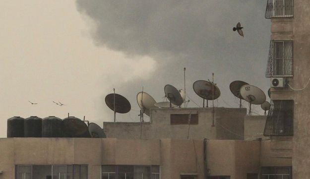 A rocket attack from the neighboring Gaza Strip