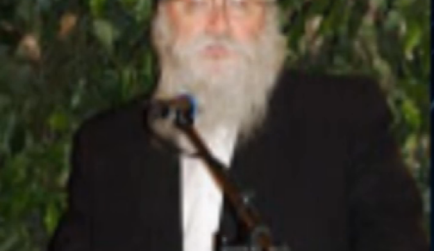 Screengrab of a video documenting Rabbi Boruch Lesches' comments.