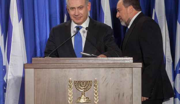 PM Netanyahu and FM Lieberman announce unification