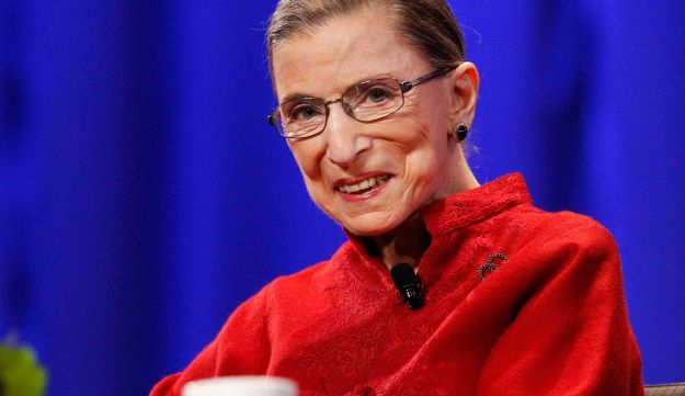 Justice Ruth Bader Ginsburg in October 2010.