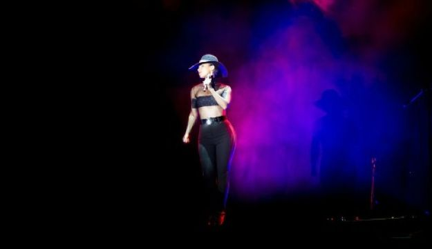 Alicia Keys performs in Tel Aviv