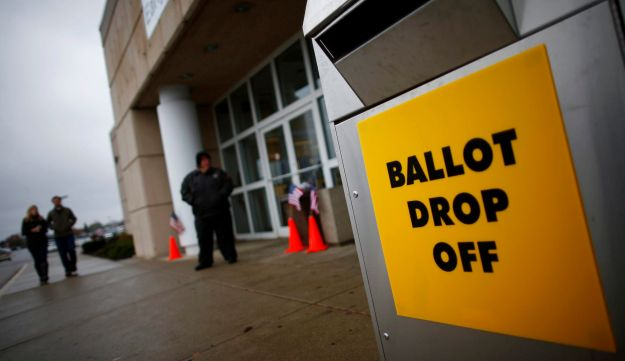 An early voting center - Reuters - October 30, 2012.