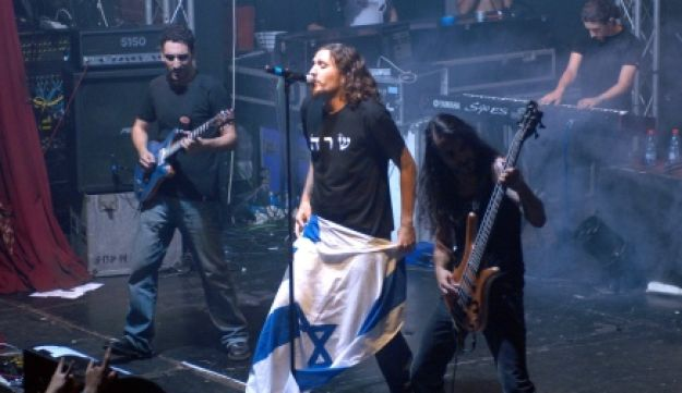 Orphaned Land performing