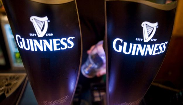 Guinness beer pumps