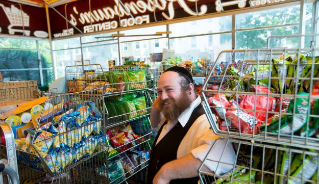 Shop Proud: Tzvi Rosenbaum is planning to expand his grocery store