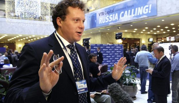 Sergei Polonsky in Moscow, Russia, on Sept. 29, 2009.