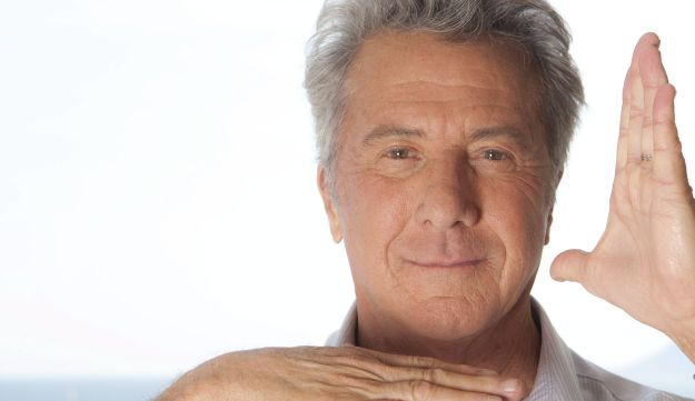 Actor Dustin Hoffman poses for a portrait, May 11, 2011.