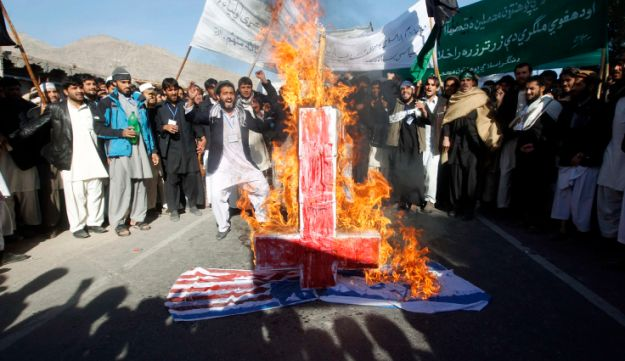 Anti-Israel protest in Afghanistan