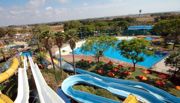 The Shefayim Water Park.
