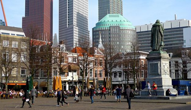 The 'Plein' in The Haag, The Netherlands.