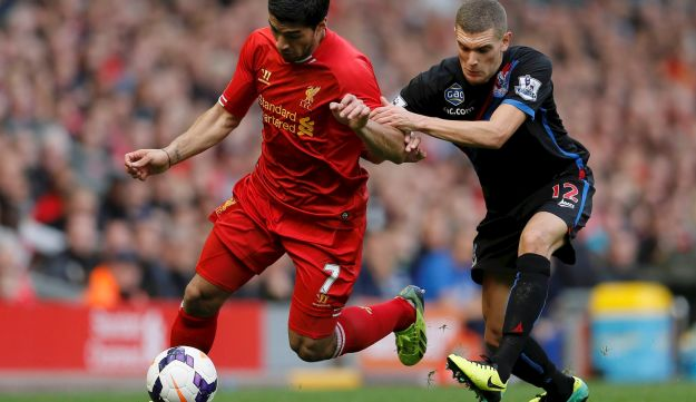 Luis Suarez and Stuart O'Keefe.