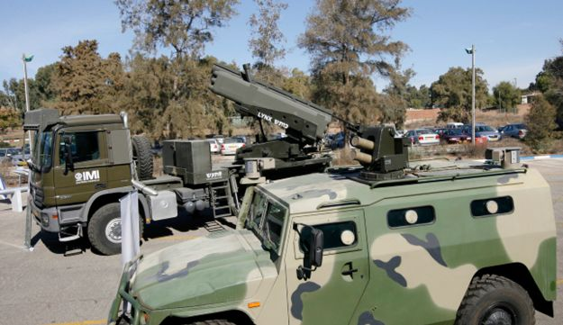 Advanced Israel Military Industries weapons systems