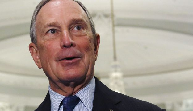 New York City Mayor Michael Bloomberg at City Hall in New York, August 9, 2013.