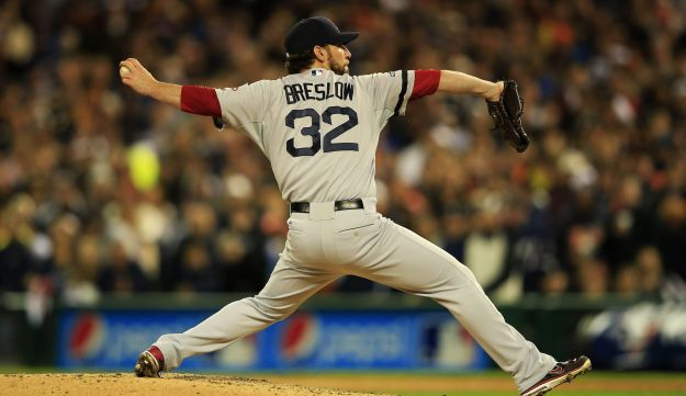 Craig Breslow of the Boston Red Sox.