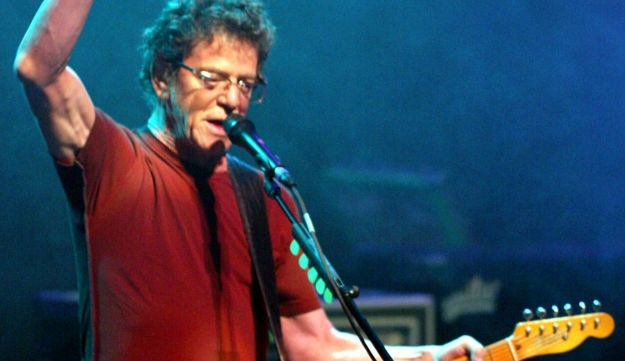 Lou Reed performing in Portugal, 2005.