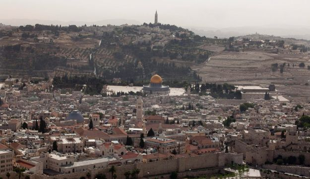 The Old City of Jerusalem, with a view of the Dome of the Rock (Tal Cohen)
