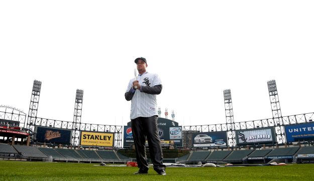 White Sox on the Cellular Field (AP)