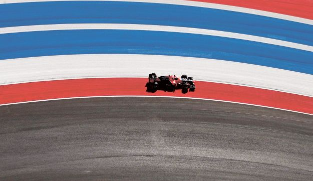 Marussia's Formula 1 driver Timo Glock driving during the U.S. Grand Prix in Austin, Texas