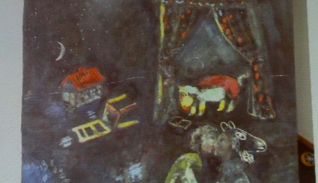 Chagall painting discovered among 1,500 Nazi-seized artworks in a Munich flat.