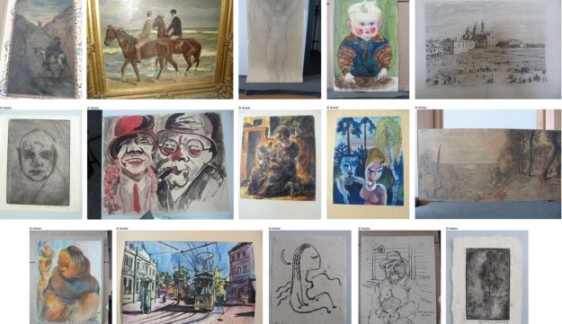 Paintings by Chagall, Rodin, Matisse and others were among 1,400 artworks found at Munich home.