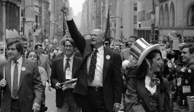 New York City Mayor Ed Koch