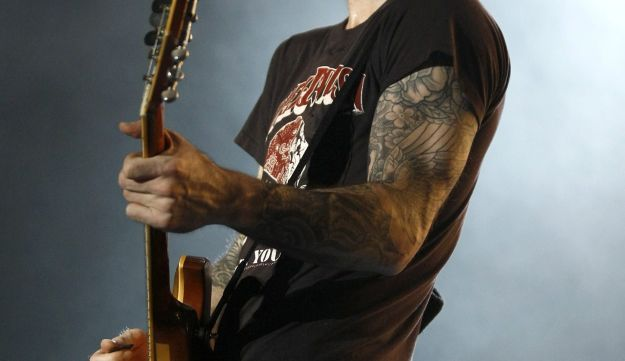 Maroon 5's frontman, Adam Levine, performing in Taipei. May 19, 2011.