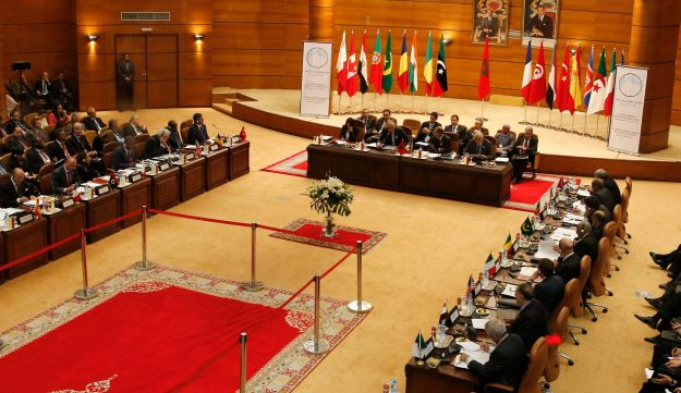 A security meeting in Rabat, Morocco