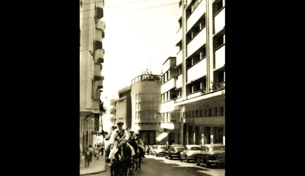 Archive picture of the Roxy Cinema in Tangier.