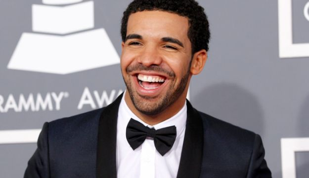 Rapper Drake arrives at the 55th annual Grammy Awards in Los Angeles, California, Feb. 10, 2013.