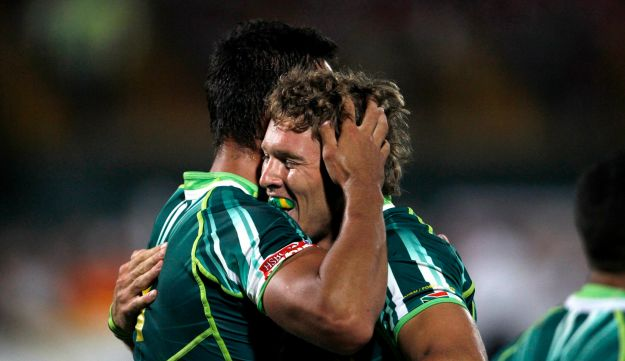 South Africa's Kyle Brown
