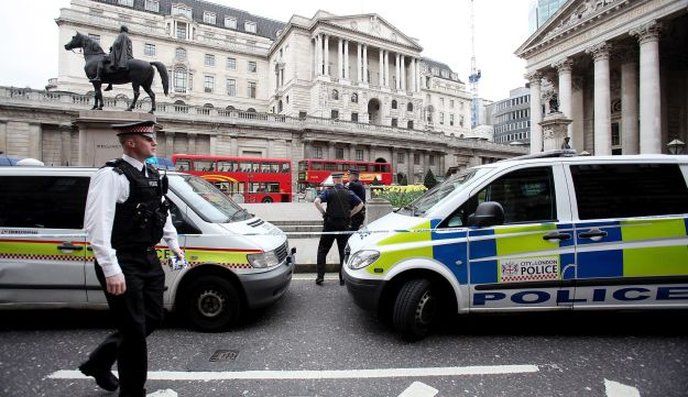 The City of London police.