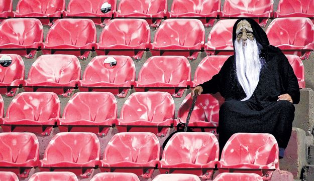 It wasn't only the standard of play that kept the fans away from Be'er Sheva on Saturday.
