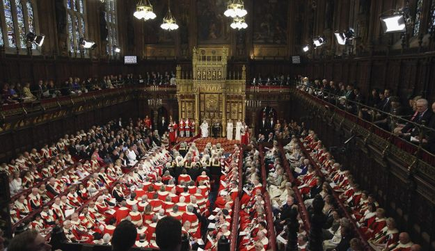 British House of Lords, May 2012