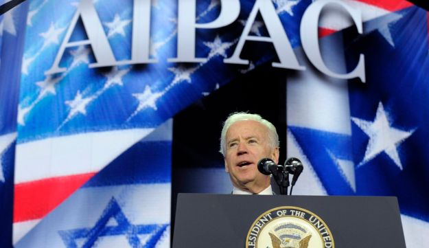 U.S. Vice President Joe Biden addresses the American-Israeli Public Affairs Committee (AIPAC) 2013