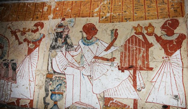 A newly discovered tomb in Luxor