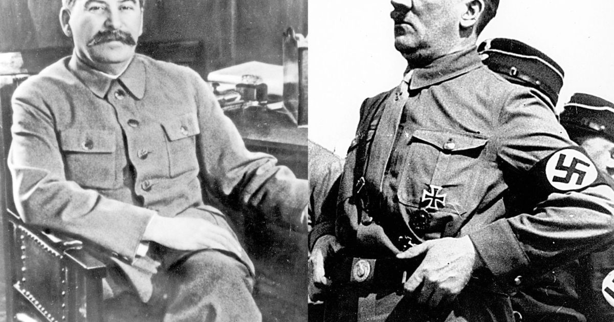 "the two men that were on opposing sides before the world war two adolf hitler and joseph stalin Adolf hitler, one of history's of ""betrayal"" at the outcome of world war i, calling for revenge against france and expansion jewish men were arrested and."