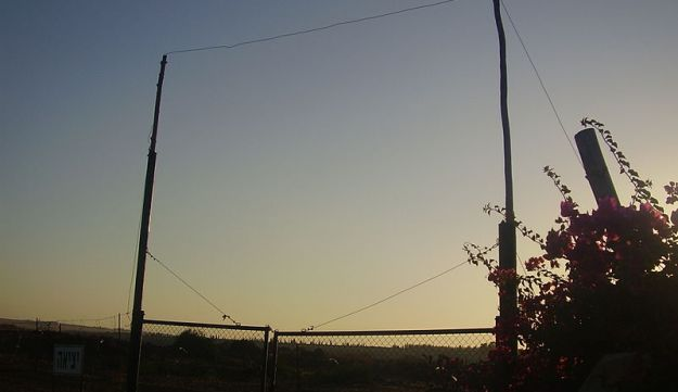 Illustration: Part of an Eruv in the Golan Heights, Israel.