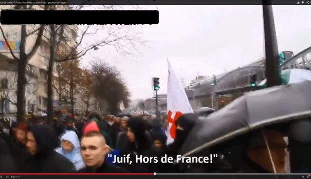 'Jews out of France'
