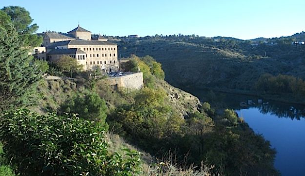 Toledo is surrounded on three sides by the Tagus River.