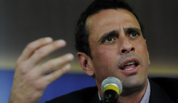 Venezuelan opposition candidate for the upcoming April 14 presidential election, Henrique Capriles