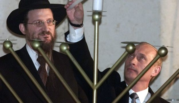 Russian Jews Putin Hannukah Moscow