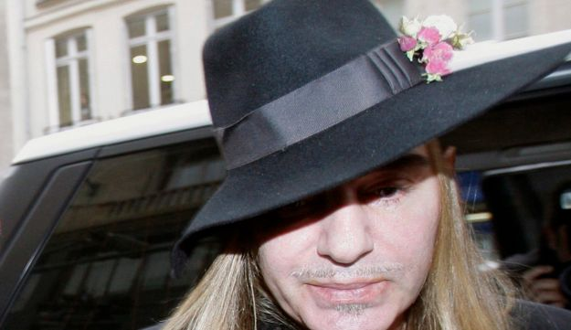 In this Monday, Feb. 28, 2011 file photo, Fashion designer John Galliano arrives at police station.