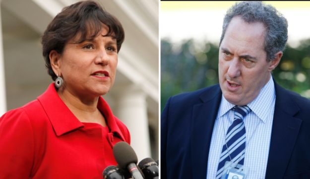 Penny Pritzker and Mike Froman.