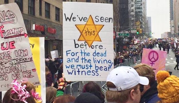 The Women's March on New York.