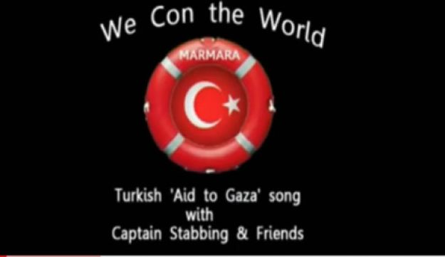 Israeli-produced spoof 'We Con the World'